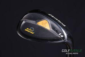Cleveland CG14 Black Pearl Sand Wedge 56 Right-H Steel Golf Club #7383