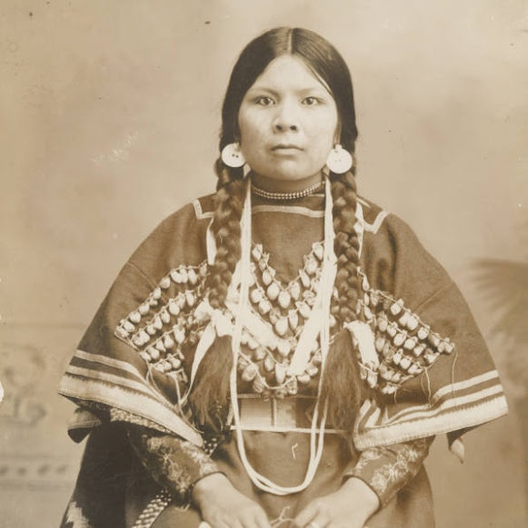 Ida Pond - Nez Perce - circa 1905