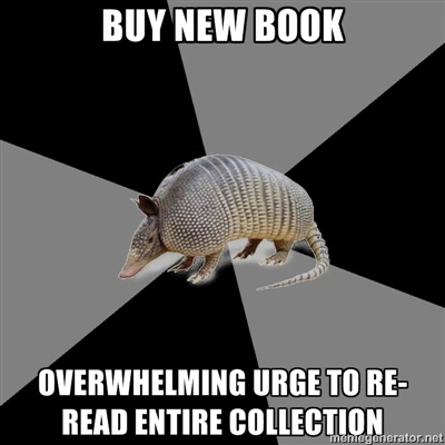 Every time for Eragon and Series of Unfortunate Events.