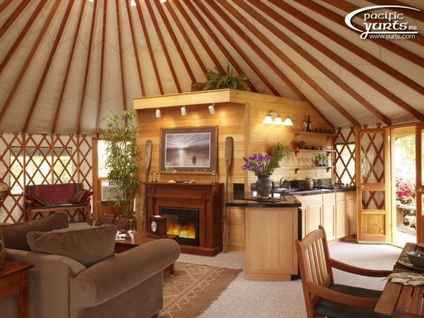 79 Best Yurts Images On Pinterest