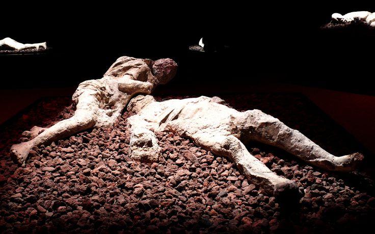 Excavations at the foot of Mount Vesuvius Pompeii