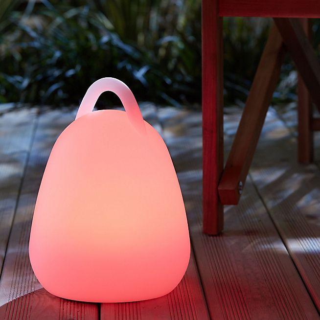 Bahia Baladeuse lumineuse à LED multicolore autonome H25cm