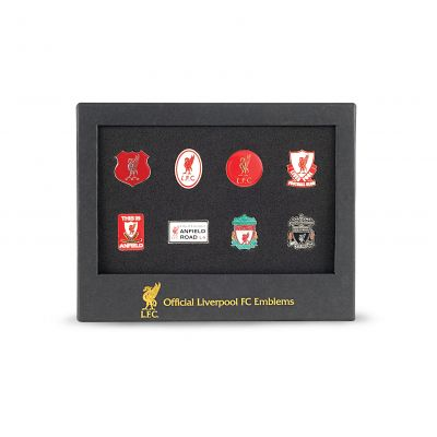 Liverpool Club Emblems Badge Set | Liverpool FC Official Store