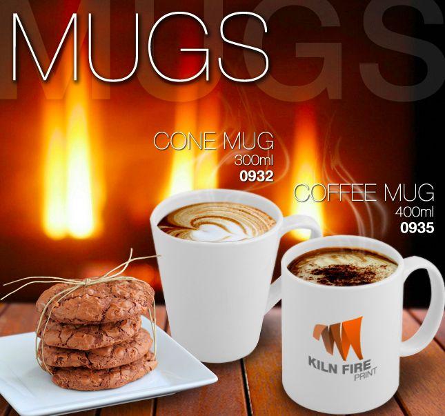 Ceramic Mugs 300ml - R14,85 400ml R13.50 excl vat