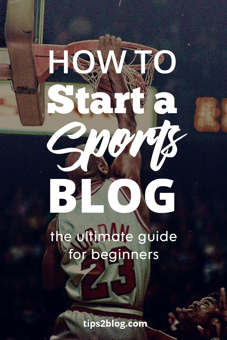 If sports is your thing, check out our step-by-step guide for starting a sports blog. A 7 minutes guide to get you started with your sports blog. #sports