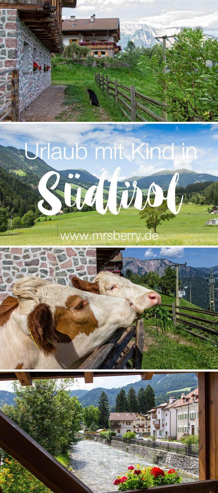 Urlaub in [Italien] mit Kind. Wunderbare Bedingungen für einen Familienurlaub auf dem Bauernhof gibt's im wunderschönen Sarntal in Südtirol. | MrsBerry Familien- & Reiseblog http://mrsberry.de