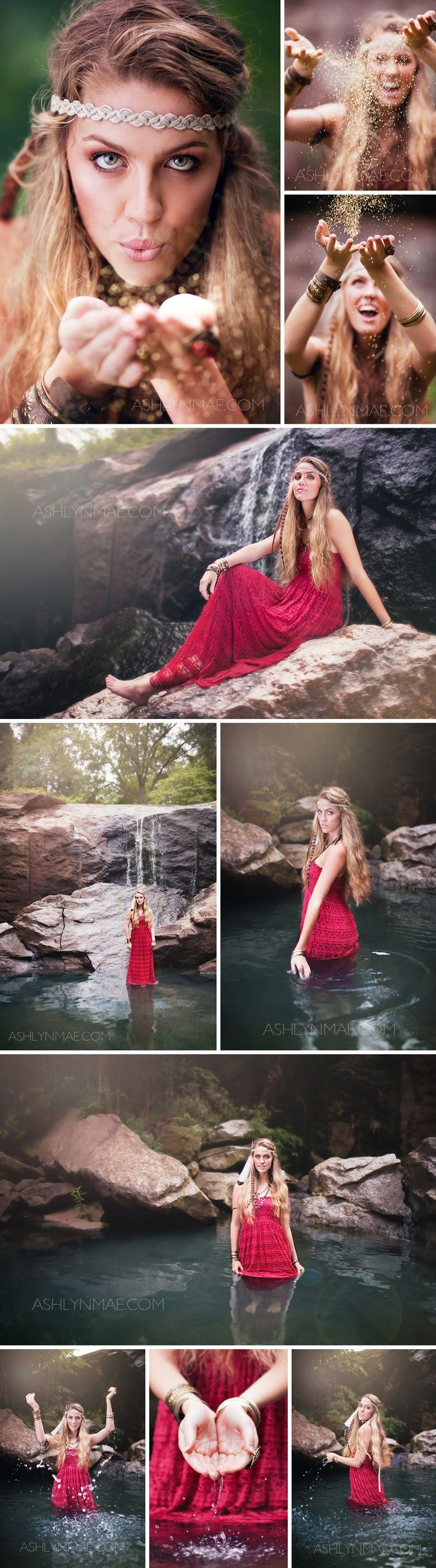 ©️️ Ashlyn Mae Photography (http://ashlynmae.com) High School Senior Photography #senior #photos #style #boho