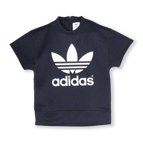 【adidas Originals by HYKE】 半袖スウェット [HY SSL SWEAT] ウェア アパレル [AJ5451]|アディダス オンラインショップ -adidas 公式サイト-