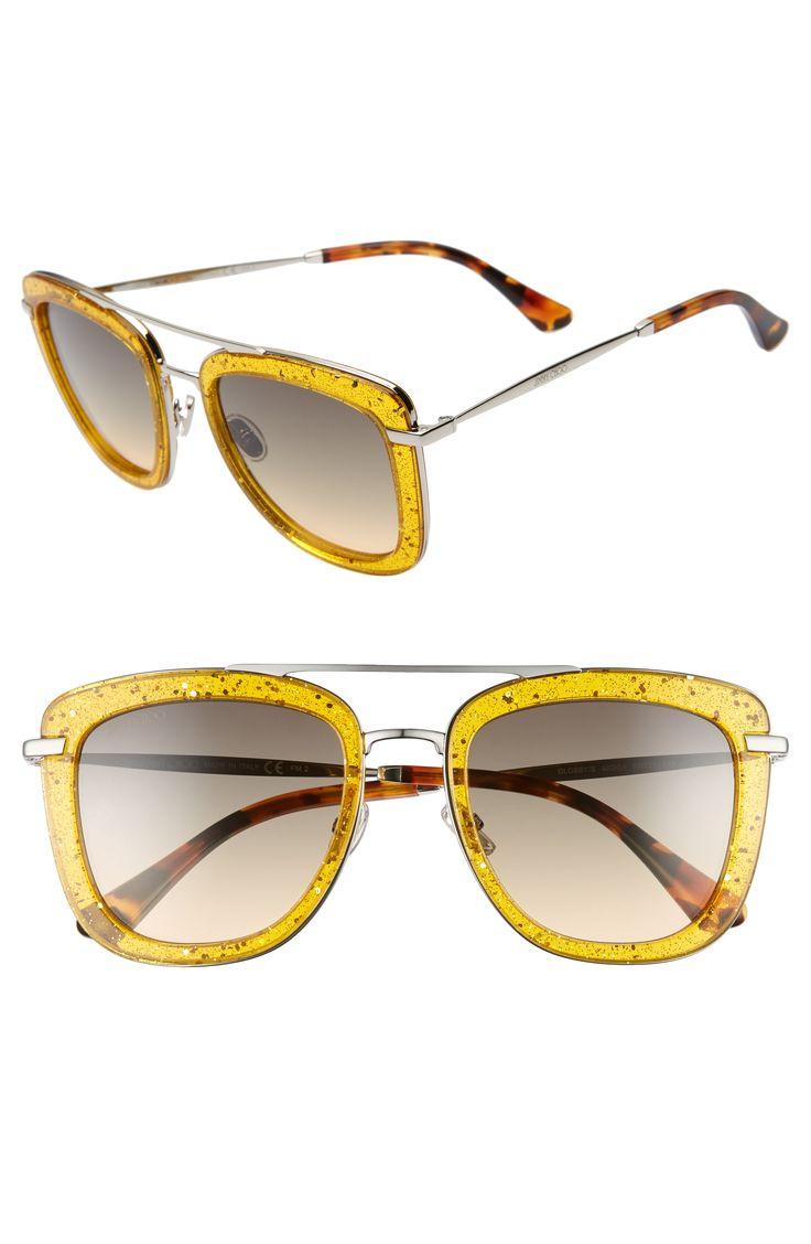 Jimmy Choo Glossy Gold Womens Sunglasses   Vision Express