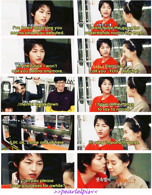 Song Joong Ki : Running Man ep 15 (mission: heartrate) Come visit kpopcity.net for the largest discount fashion store in the world!!