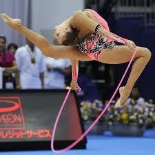 Rhythmic Gymnastics, Evgeniya Kanaeva of Russia