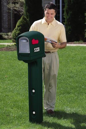 The MailMaster Trimline Standard Mailbox (Spruce Green) by Get My Mailbox and MORE!. $80.00. New slim design looks great and is still large enough to meet your needs.
