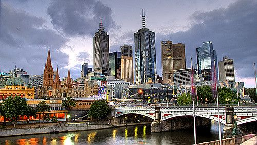 Melbourne | Melbourne City Skyline and Yarra River | Mark | Flickr