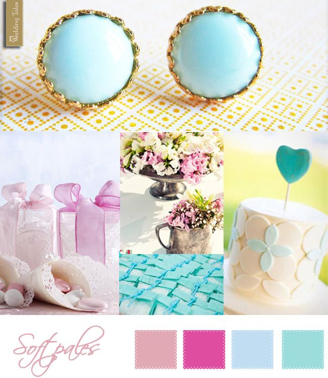 Wedding Moodboard | Soft Pales