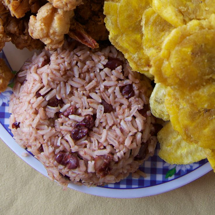 Resanbinsi (Rice and Beans with Coconut Milk) Recipe - Saveur.com...wonder if this is like the rice and beans we had in Belize? Sounds similar…