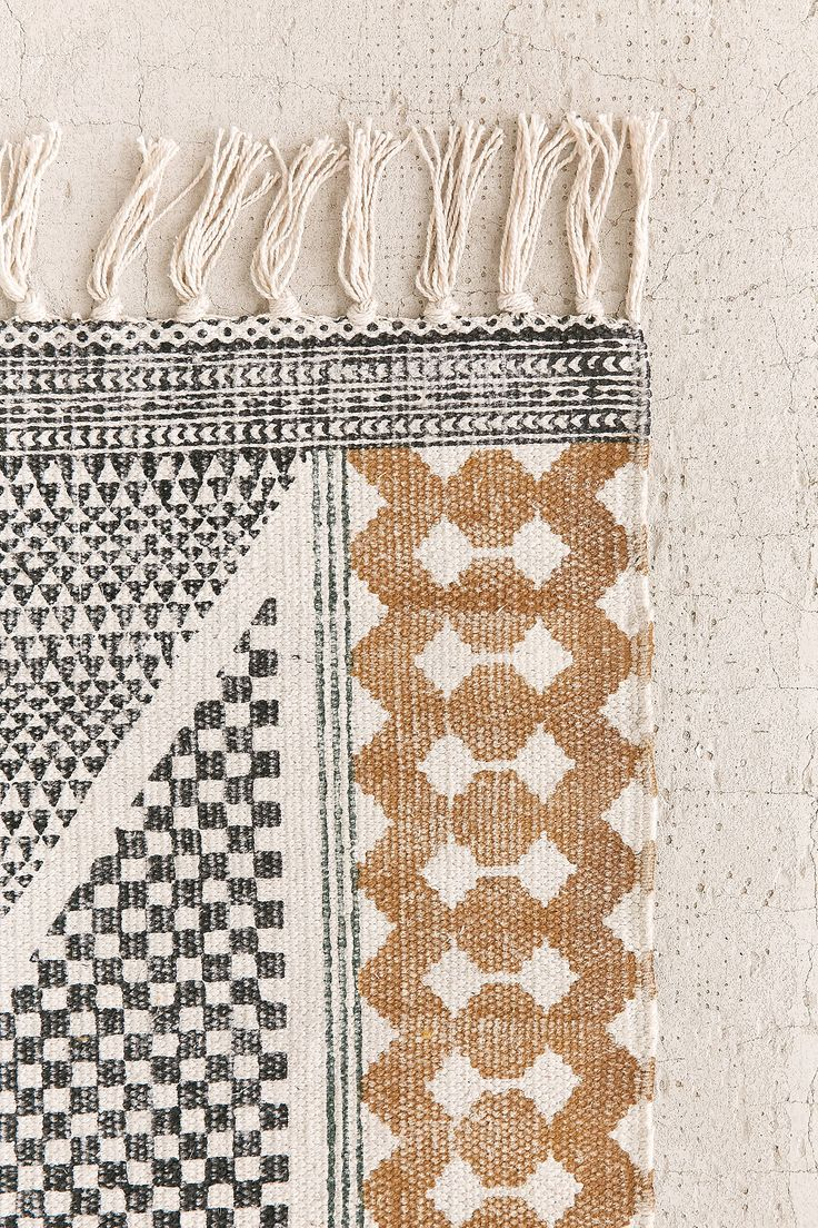 Shop the Calisa Block Printed Rug and more Urban Outfitters at Urban Outfitters. Read customer reviews, discover product details and more.
