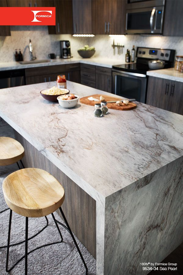 Love The Look Of Stone Countertops But Not Price Tag Explore 180fx By Formica Group Laminate Click Through To Order Your Free Sample Sea Pearl