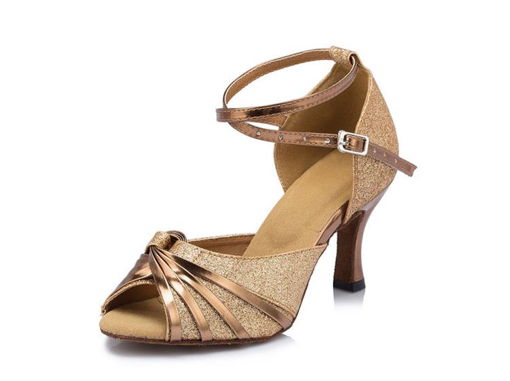 Find More Dance shoes Information about Adult women girls square ballroom Latin salsa peep toe dance shoes elegance shining gold wedding shoes,High Quality shoe shoe,China shoe increase Suppliers, Cheap shoe rack shoe store from Phoenix Dance shoes Store on Aliexpress.com