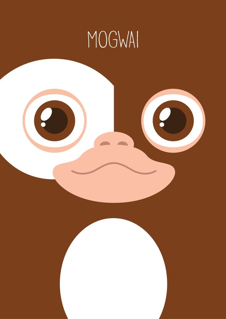 Gremlins Minimalist Series - Gizmo. Available on my Redbubble shop : http://www.redbubble.com/people/mistergamma