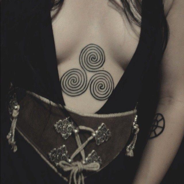 Best 25 pagan tattoo ideas on pinterest alchemy symbols for Witch symbols tattoos