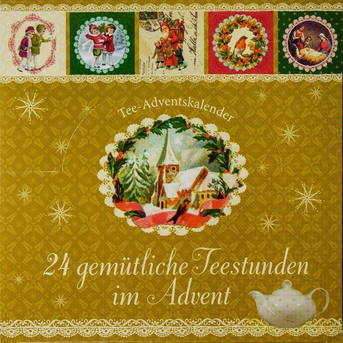 Tee-Adventskalender 24 gemütliche Teestunden im Advent