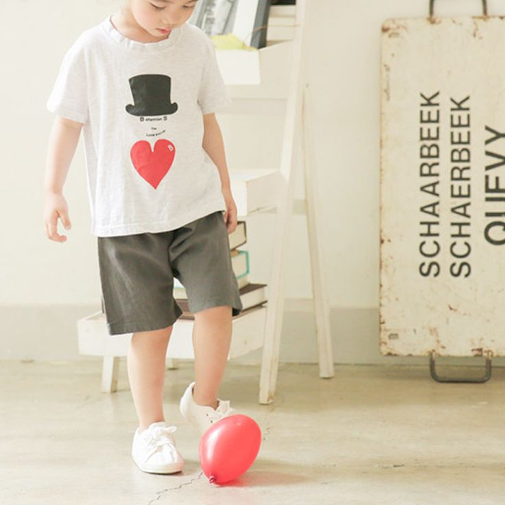 Little Colli Charcoal Grey shorts