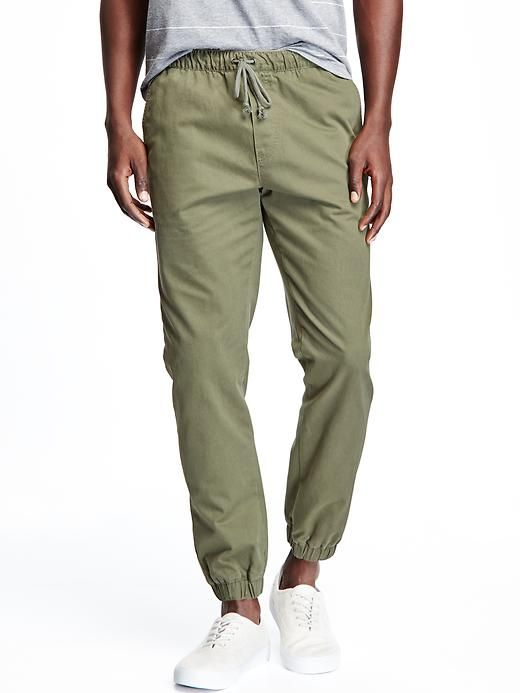 Twill Joggers for Men Product Image