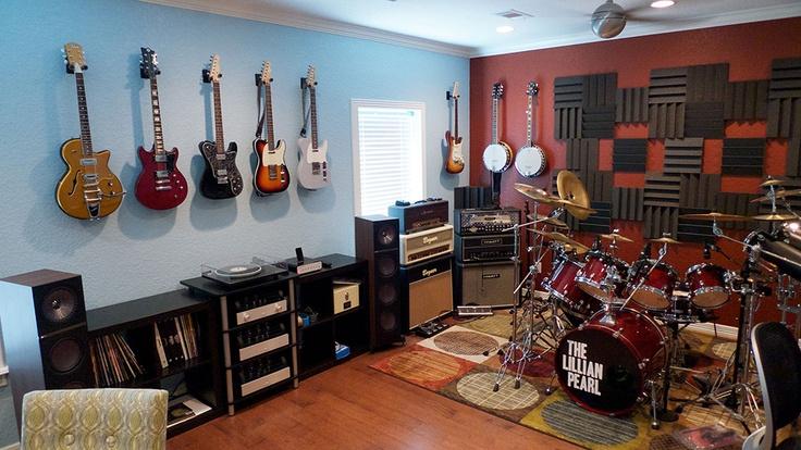 Home Office Music Room Ideas