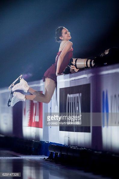 Evgenia Medvedeva of Russia performs during Gala...