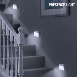 Luz LED com Sensor de Movimento Presence Light