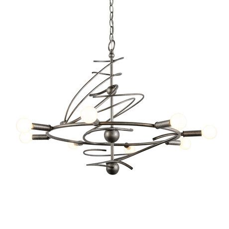 Shop for the Varaluz Galaxia 8 Light 1 Tier Chandelier and save.  sc 1 st  Pinterest & 100 best lighting images on Pinterest | Modern lighting Pendant ... azcodes.com