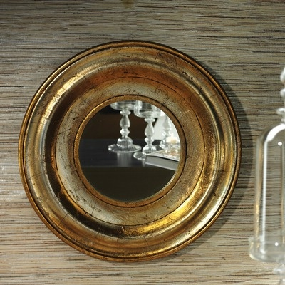Zodax Italia Carved Wooden Wall Mirror