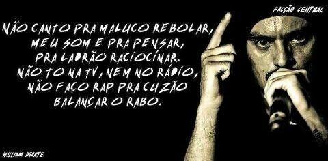 FACÇÃO CENTRAL #RAP
