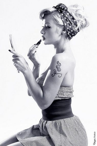 50s+Hair+|+Women's+Look+|+ASOS+Fashion+Finder