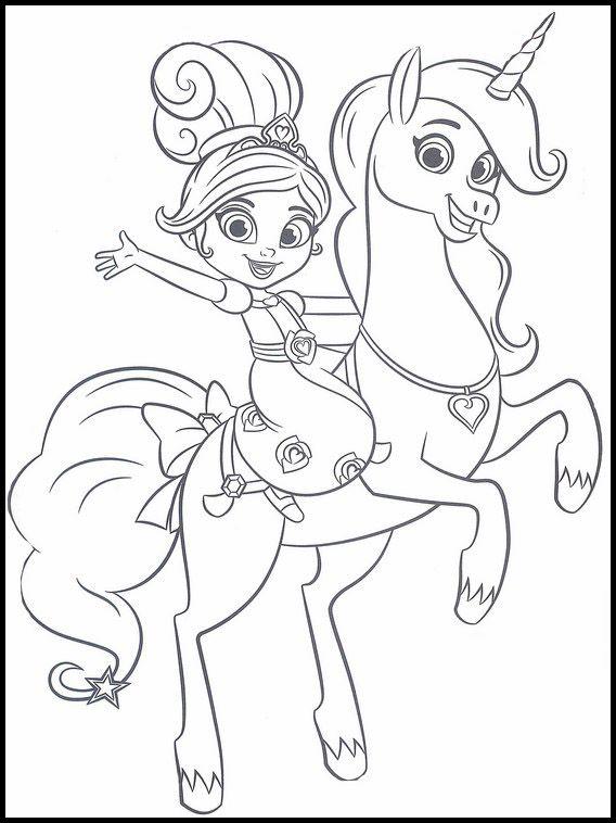 desenhos para colorir nella uma princesa corajosa1