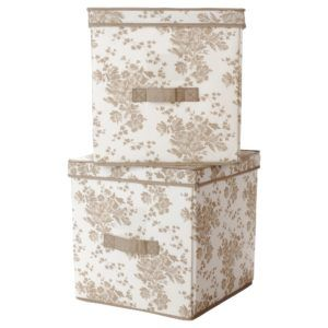 Large White Storage Boxes With Lids