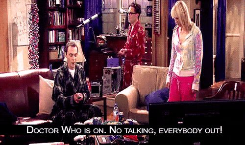 Sheldon likes Doctor Who :)