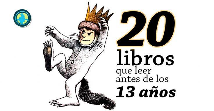 20 libros que puedes sugerir leer a los niños hasta 13 años