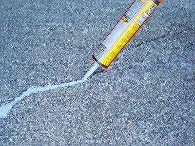 How to Fix a Crack in a Concrete, Repair Cracks in Concrete Driveway, Repair Cracks in Concrete Patio