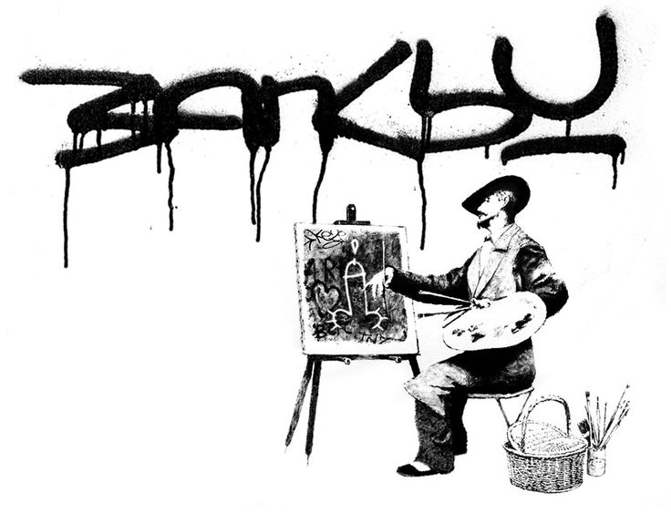 Banksy - Heavy Weaponry 2003 By Banksy - | ArchesArt