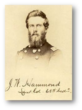 Lt Col John W. Hammond, 65th Indiana Infantry