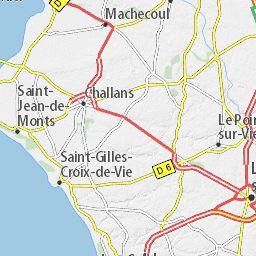 Carte détaillée Vendée - plan Vendée - ViaMichelin
