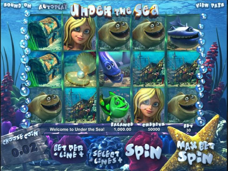 GOLDFISH SLOTS: UNDER THE SEA Have you tried Under the Sea? Under the Sea is a beautiful and highly entertaining type of goldfish slots, a game that is a great catch for those who love the secrets and wonders that rely Under the Sea!