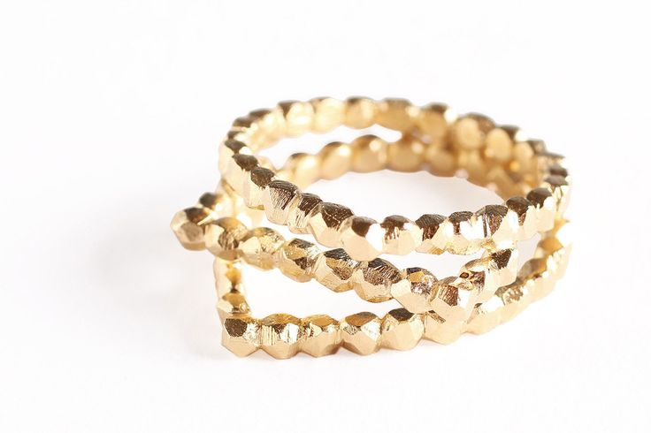Gouden ring Refined