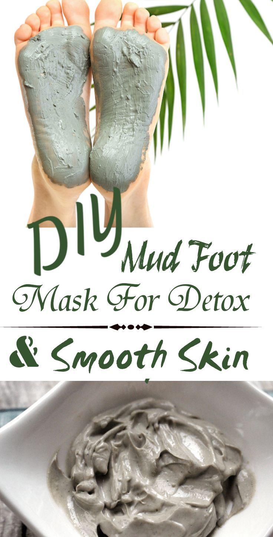 Diy Mud Foot Mask For Detox Smooth Skin Essential Oils
