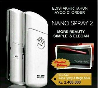 Paket Akhir Tahun Nano Spray 2 dan Magic Stick