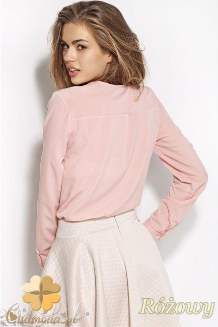 Damska bluzka koszulowa wiązana pod szyją z przodu marki Alore.  #cudmoda #ubrania #odzież #styl #moda #clothes #koszule