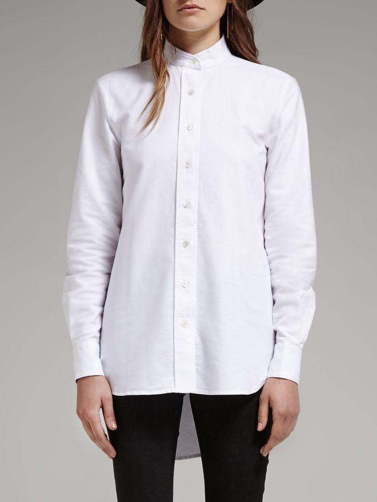 frame denim - Le Tunic White Shirt