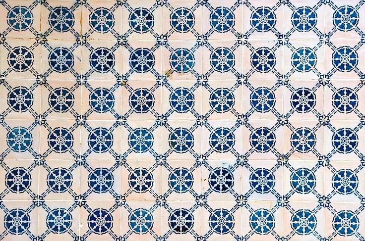 Portuguese Ceramic Tile Pattern