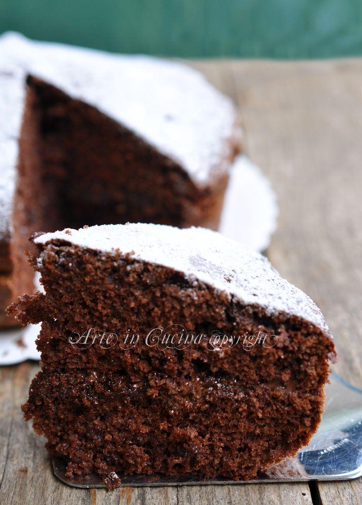 Torta nutella e mascarpone farcita ricetta arte in cucina